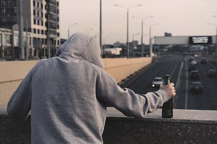 почему человек начал пить пиво фото